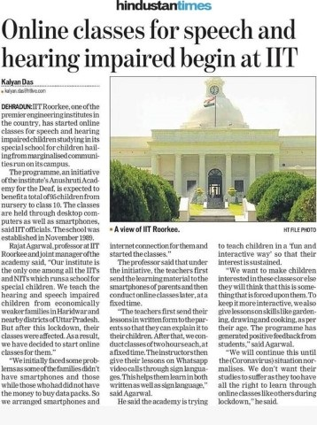 IIT-Roorkee's-Anushruti-Academy-for-the-Deaf-offers-online-lessons-for-speech-P98-Small